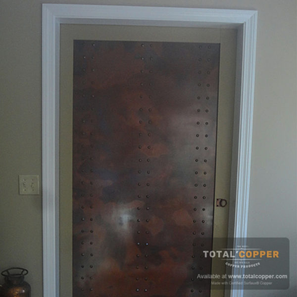Rustic Copper Door