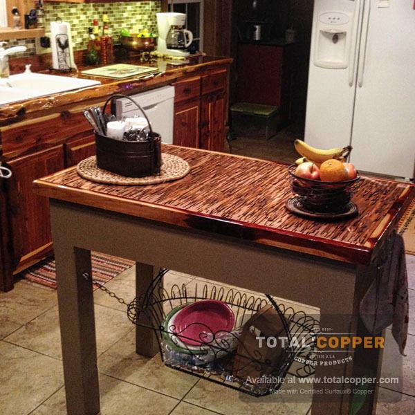 Enchantment Vertical Copper Counter | Copper Bar