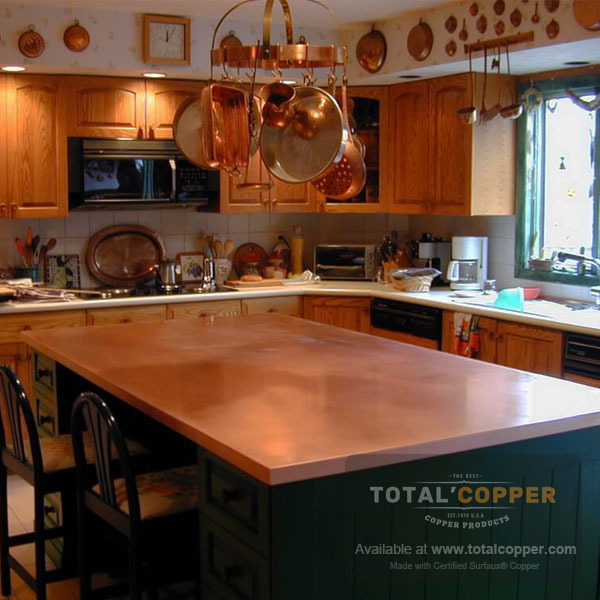 Raw Copper Counter