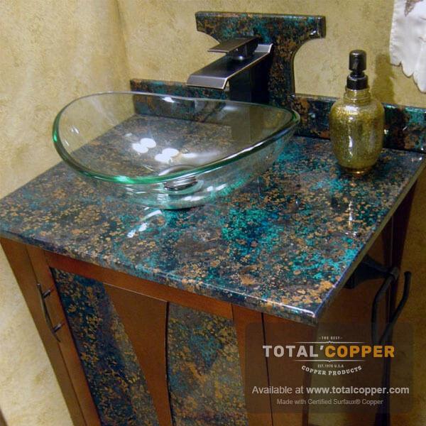 Mystic Topaz Copper Vanity