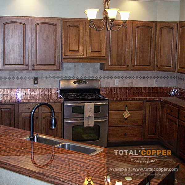 Enchantment Horizontal Copper Counter | Copper Bar