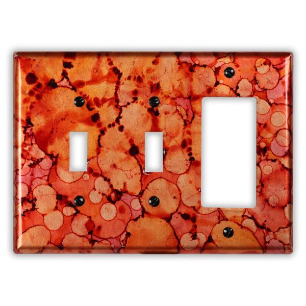 Autumn Copper – 2 Toggle 1 Rocker/GFI