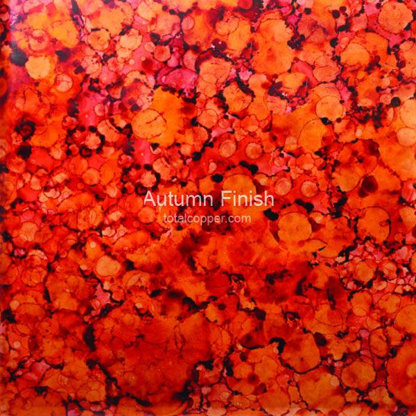 Autumn Copper Sheet Patina