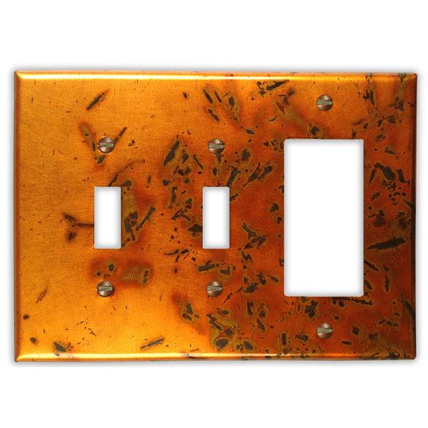 Bamboo Golden Copper – 2 Toggle 1 Rocker/GFI