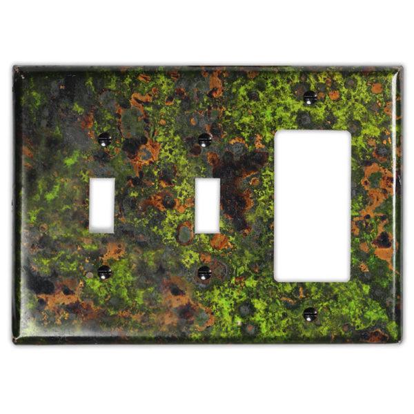 Irish Moss Copper – 2 Toggle 1 Rocker/GFI