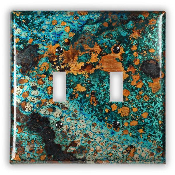 Mystic Topaz Copper Finish Patina 2 toggle