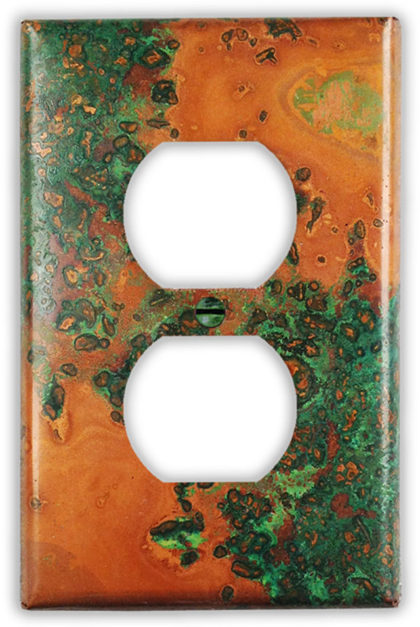 Verde Copper Finish Patina 1 outlet