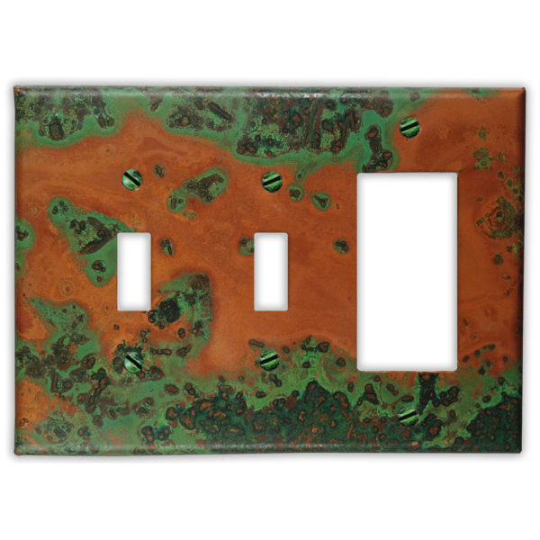 Verde Copper – 2 Toggle 1 Rocker/GFI