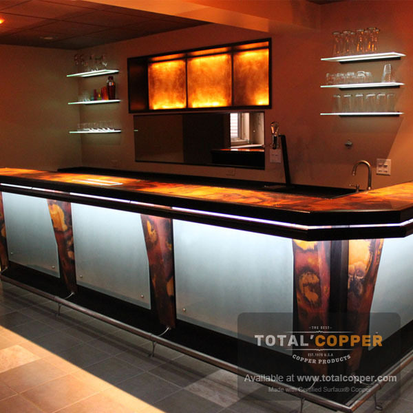 Rojo Y Negro Copper Bar | Copper Bar