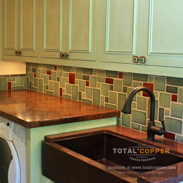 Medium Distressed Copper Counter | Copper Counter